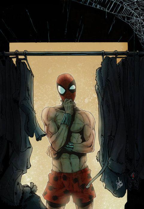 Spider-Man biggest decision.