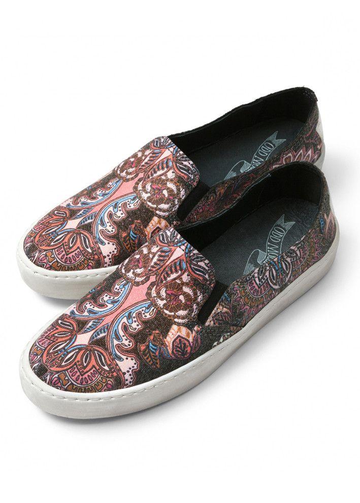 Odd Molly Sneakers - Walkabout slip-in Sneakers 616M-897 asphalt – Acorns