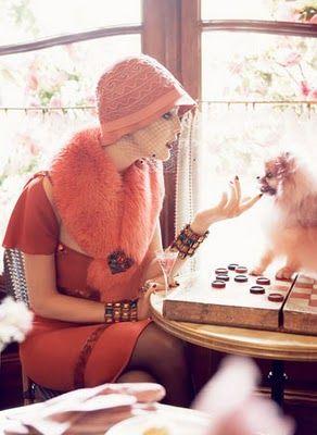 Steven Meisel for Vogue: Vogue, Paris, 1920, Gracecoddington, Style, Steven Meisel, Cloche Hats, Grace Coddington, Fashion Shoots