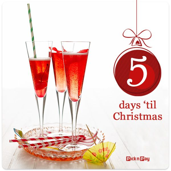 What better way to kick off the #festive #season #weekend than with some #bubbly?   #Recipe >> http://ow.ly/rNU7L