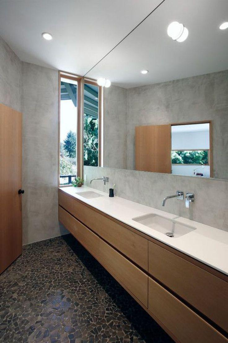Badezimmer ideen halb geflieste wände  best bad images on pinterest  bathroom bathroom ideas and bathrooms