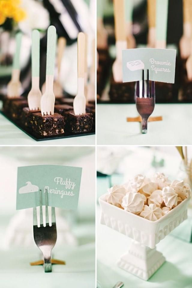 A Mint and Yellow Kitchen Themed Bridal