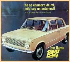Seat 124 D Año 1972