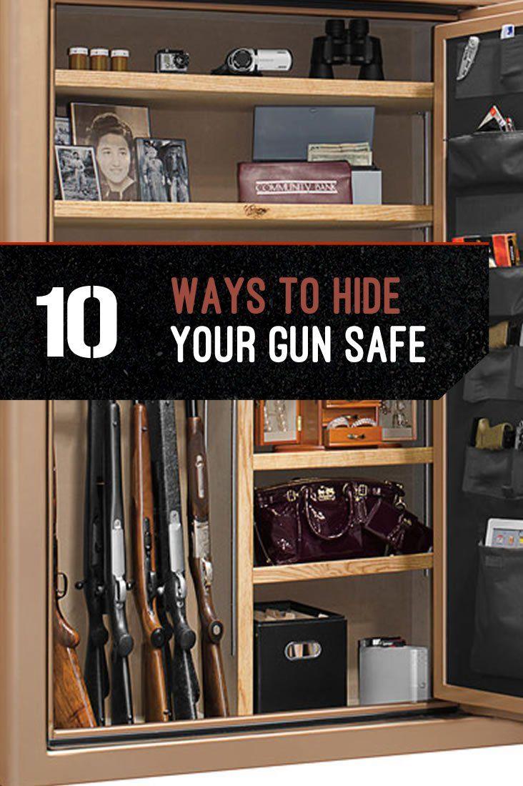 Gun Storage | How to Hide Your Gun Safe by Gun Carrier at http://guncarrier.com/guns-storage-hide-your-gun-safe