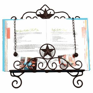 LOVE THIS!!!!     Lone Star Recipe Book Holder