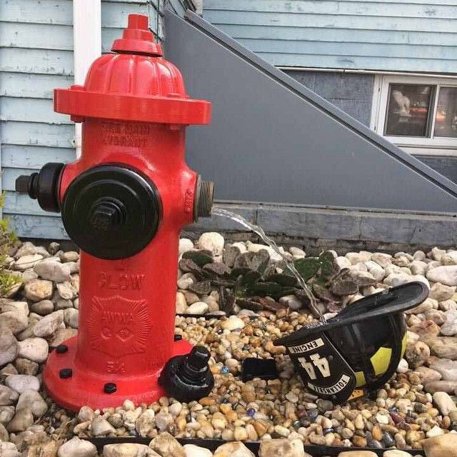 This is a good #DIY way to reuse & recycle old #firefighter equipment and tools.