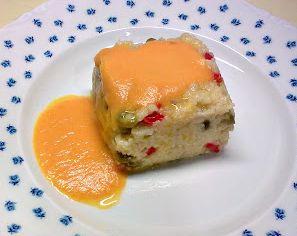 Mijo con verduras y salsa de zanahorias   #Recetas de cocina   #Veganas - Vegetarianas ecoagricultor.com