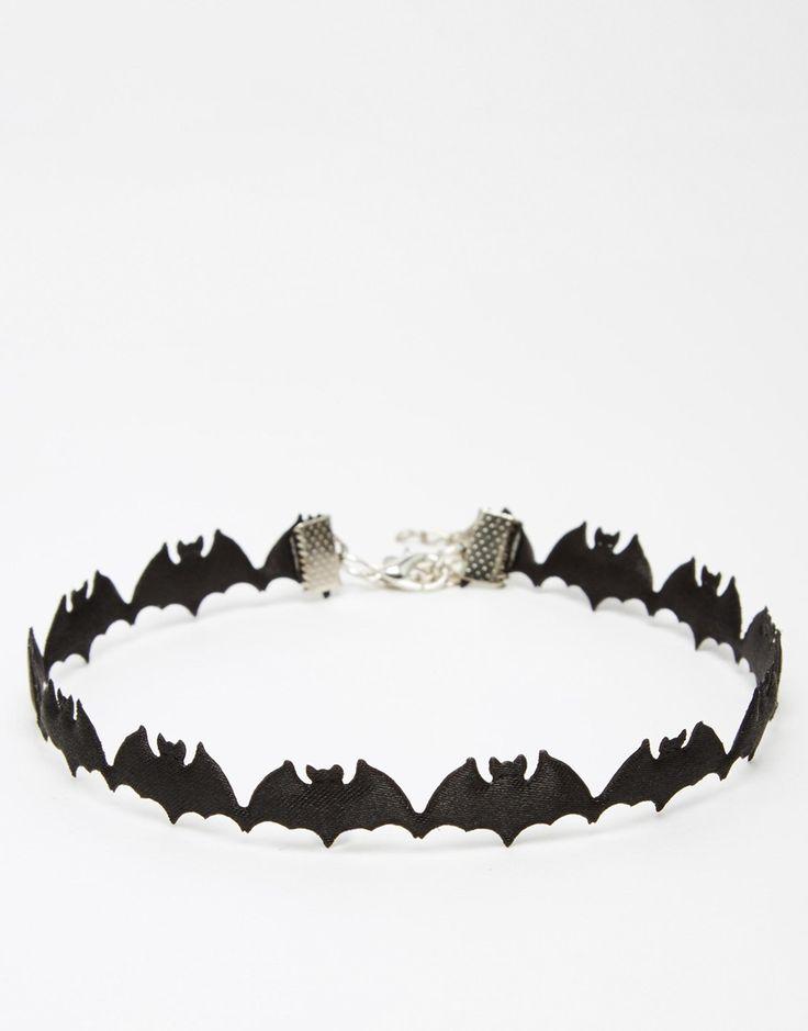 Image 1 ofSuzywan DELUXE Halloween Bat Choker Necklace