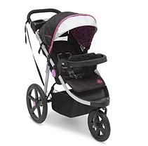 J is for Jeep Brand Adventure All-Terrain Jogging Stroller, Berry Tracks