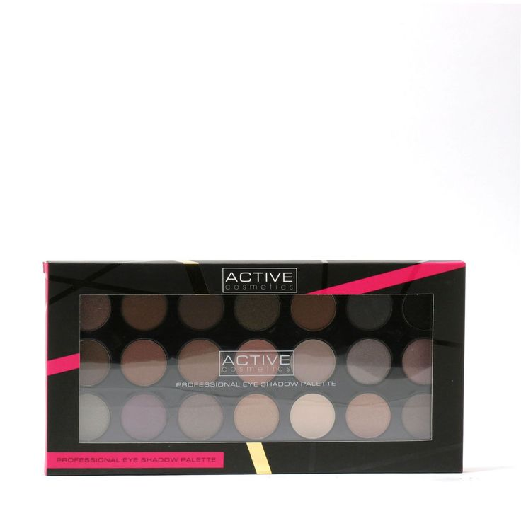 Active Professional 21-shade Eye Shadow Pallet