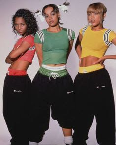 Tlc rocking it old school