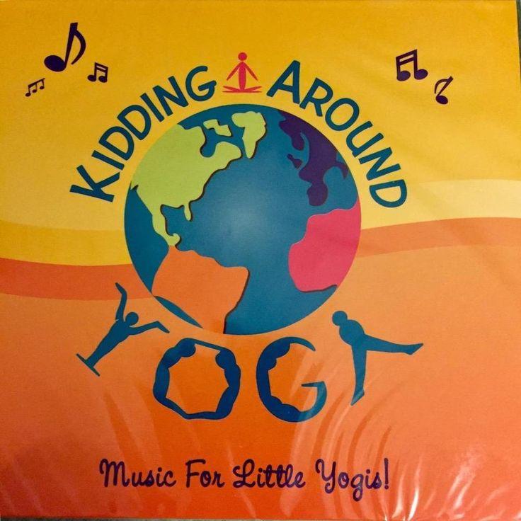 Kidding Around Yoga CD Music For Little Yogis New Childrens Kids #Educational