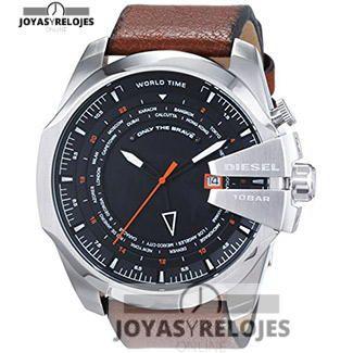 Increíble ⬆️😍✅ Diesel - Reloj de cuarzo para hombre marrón 😍⬆️✅ , ejemplar perteneciente a la Colección de RELOJES DIESEL ➡️ PRECIO 229 € Disponible en 😍 https://www.joyasyrelojesonline.es/producto/diesel-reloj-de-cuarzo-para-hombre-correa-de-cuero-color-marron/ 😍 ¡¡Ofertas Limitadas!! #Relojes #RelojesDiesel #Diesel