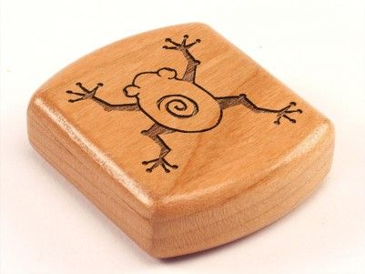 Tree Frog Secret Box #woodenbox