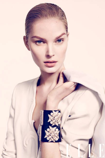 Flower Girl: Wedding Makeup Tips: Bracelets Ideas, Nelson Simoneau, Elle Ukraine, June 2012, Handmade Bracelets, Diy Bracelets, Anastasija Kondratjeva, Wedding Makeup Tips, Luxury Jewelry