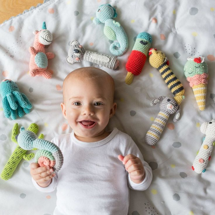 Forget the 'shake' & 'roll', just rattle!! 🍡 These delicious & fun rattles are perfect for little hands and making big smiles!! 🌵 🐙 🐨 🦄 🐰  _ #shakerattleandroll #rattle #babyrattle #playtime #baby #babylove #babystyle #babyshop #babylife #babyvillage #babyvillagestore #sale #repost #weego #weegoamigo @littlelinen
