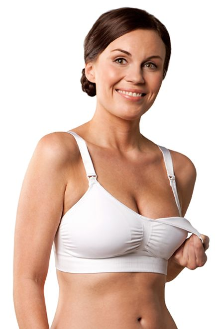 Carriwell Seamless Padded Maternity And Nursing T Shirt Bra | Maternity Clothes Maternity Fashion www.duematernity.com Holiday Gifts under $50