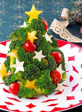 ポテサラで!クリスマス☆ツリーサラダ