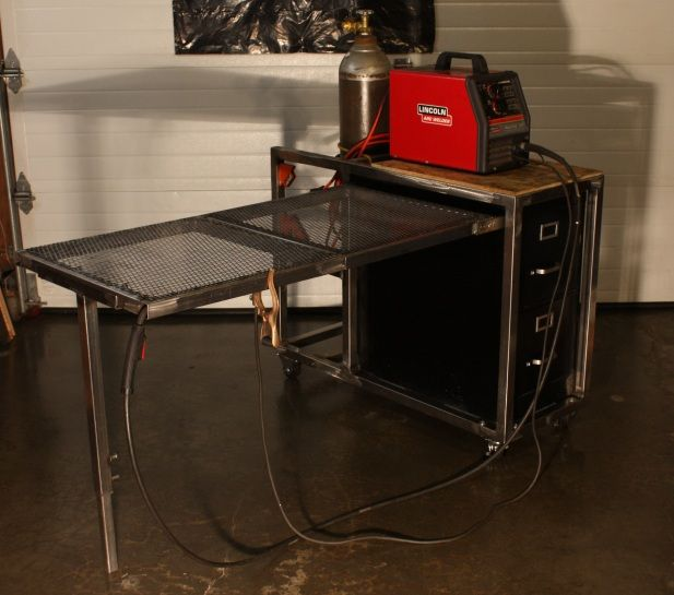 17 Best Ideas About Steel Workbench On Pinterest: 25+ Best Ideas About Welding Cart On Pinterest
