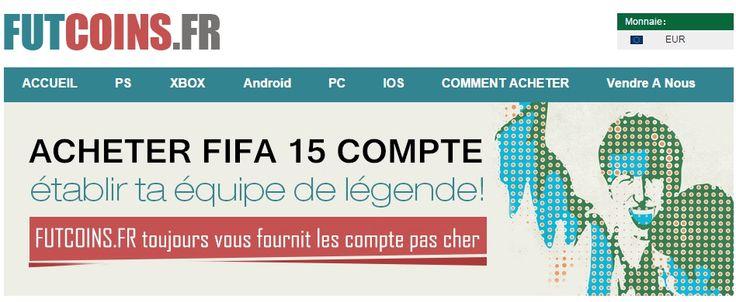 Acheter fifa 15 compte, FIFA 15 credits, safe fifa 15 account, FIFA 15 ultimate team Coins pour PS3,PS4,XBOX,IOS,PC et Android sur www.futcoins.fr. les meilleurx