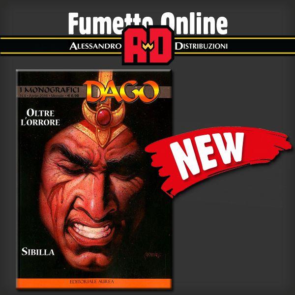 !! NOVITA' !!   Link all'acquisto: http://www.fumetto-online.it/it/editoriale-aurea-dago-monografici-oltre-orrore-sibilla-c76427000040.php?TITOLO=oltre%20l%20orrore&txtAutore=&LIB=1&vall=0&briceeditorialeaurearca=Cerca