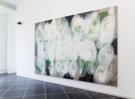 Ian McKeever, Temple Painting, 2004-05, 270 x 400 cm