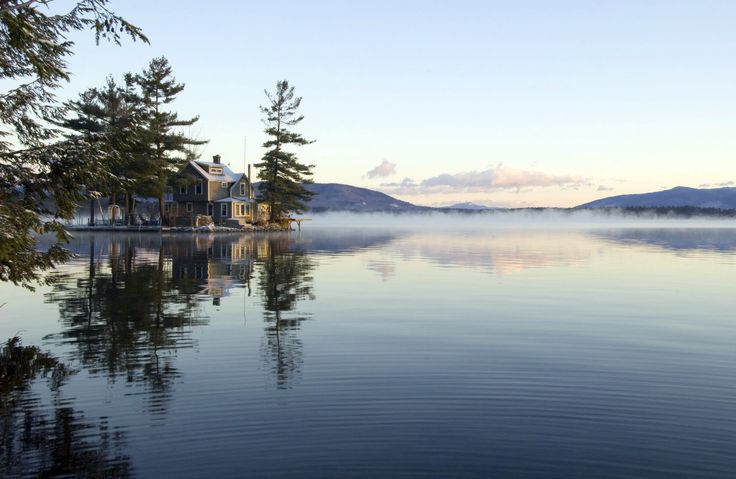 Lakes + Rivers Outdoors + Adventure Trip Ideas water sky Lake Nature atmospheric phenomenon wilderness tree loch River Winter morning reservoir mountain landscape pond day shore surrounded