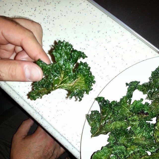 Chips-uri de Varza Kale Kale Chips (Olive Oil, Haimalayan salt, Pepper)