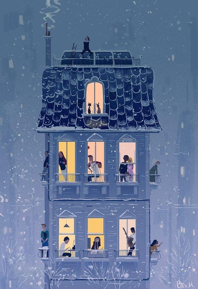 Паскаль Кэмпион (Pascal Campion) франко-американский иллюстратор и аниматор
