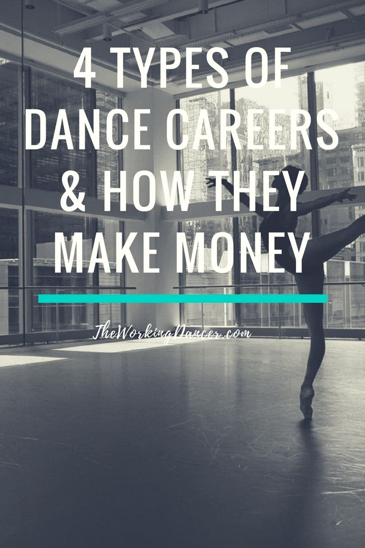 how to make career in dance