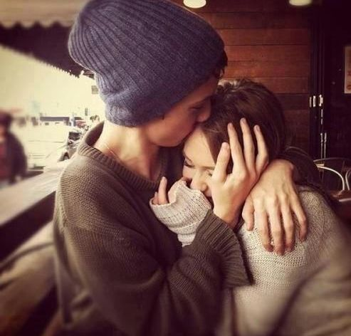 I feel safer in your arms❤