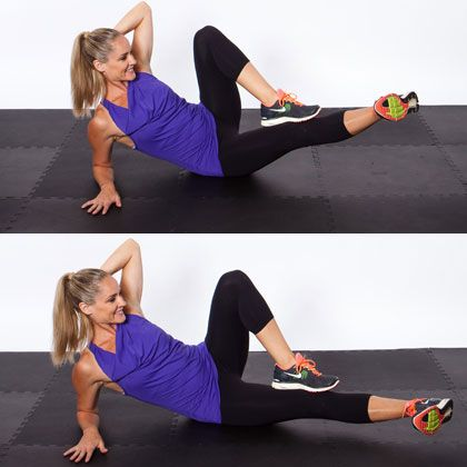 Side Shuffle Switch - Top 10 NEW Exercises for Thinner Thighs - Shape Magazine - Page 6