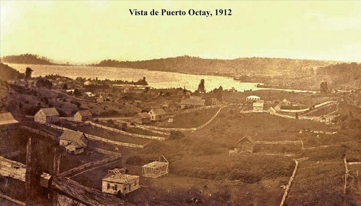 Vista Parcial de Puerto Octay, 1912