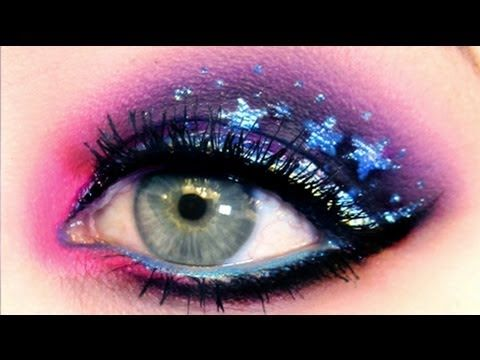 ★★ GALAXY EYES: Makeup Tutorial ★★