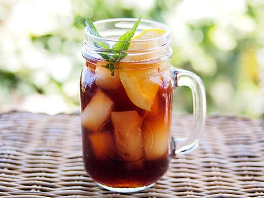 Traditional Southern sweet tea