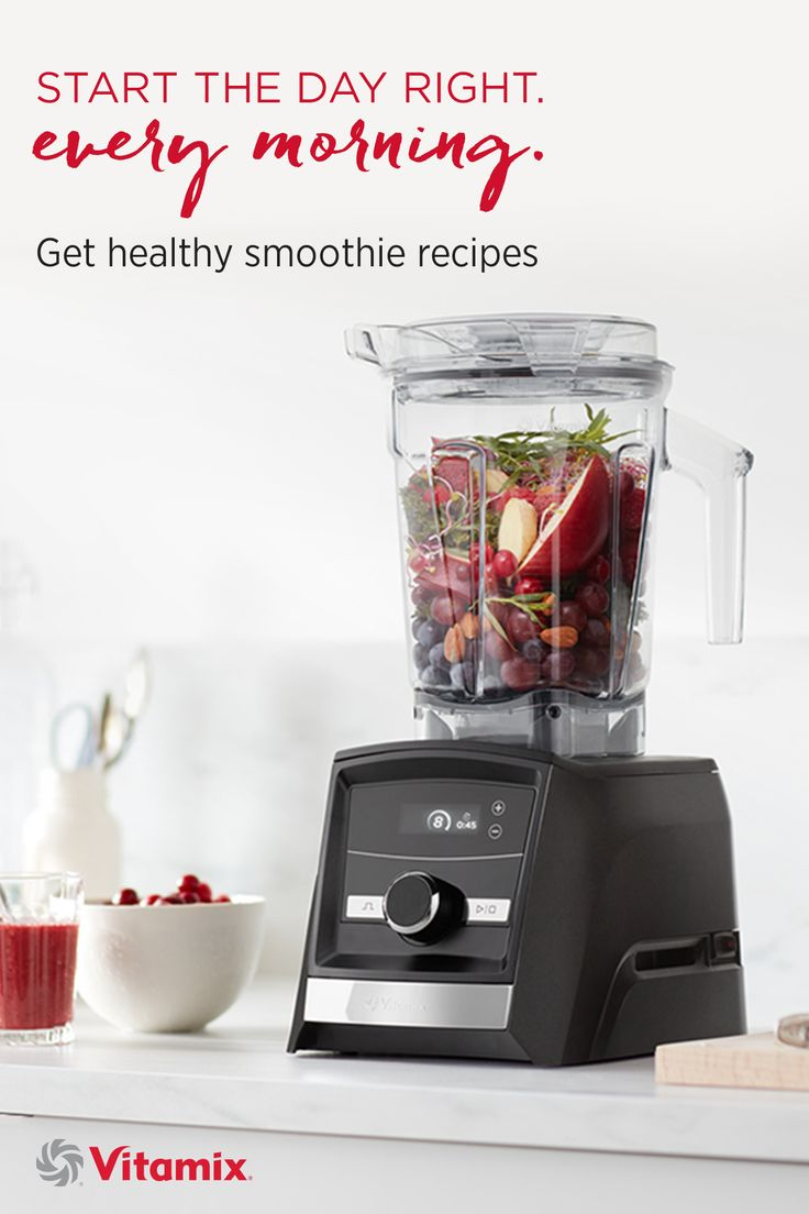 Get healthy smoothie recipes - the Ascent Series from Vitamix offers the first high-performance blenders with built-in timers, wireless connectivity, Smart-Detect containers and a 10-year warranty.