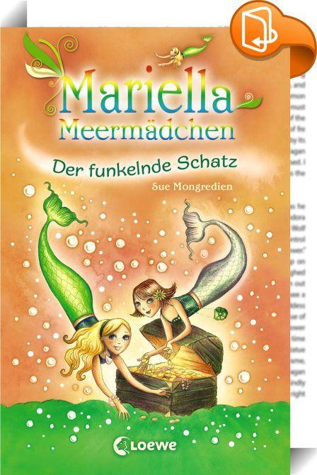 Mariella Meermädchen 3 - Der funkelnde Schatz    :  Stürme peitschen über die Küste und Mariella ist sich sicher: Ein Meermädchen braucht ihre Hilfe! Als sie abends die Augen schließt, beginnt ihre Muschel magisch zu funkeln. Sie darf wieder nach Aquaris! Dort muss sie helfen, Liaras Muschelstück wiederzubekommen. Schnell! Denn ein großer Öltanker droht an den Felsen zu zerschellen ...   Mariella ist eine verzauberte Meerjungfrau. Nachts erlebt sie mit Hilfe ihrer magischen Muschelkett...
