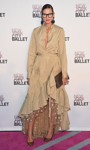 Jenna Lyons attends the New York City Ballet 2016 Fall Gala at David H. Koch Theater at Lincoln Center on September 20, 2016 in New York City.