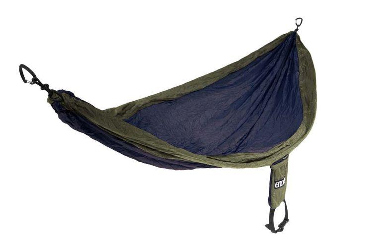 SingleNest Hammock from Eagles Nest Outfitters Inc. - Lightweight Outdoor Parachute Nylon Hammocks along with optional Slap Straps Hammock Suspension.