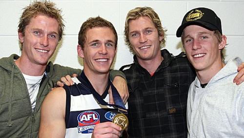 Troy, Joel, Adam and Scott Selwood