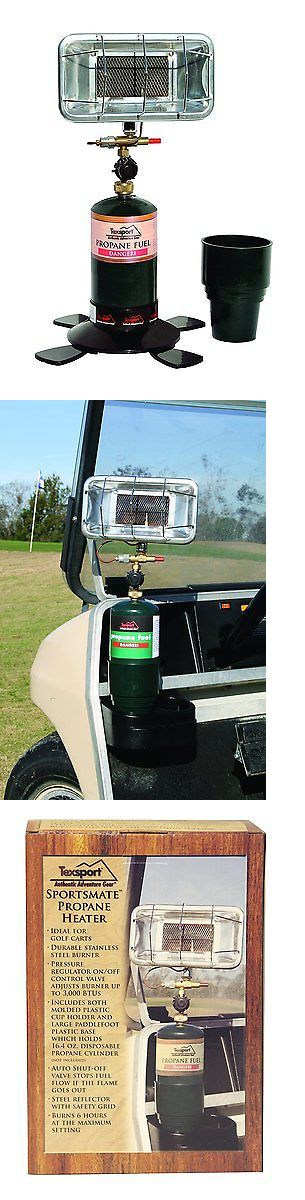 Generators and Heaters 16039: Texsport Portable Propane Heater For Golf Cart, Camping, Fishing Boat, Outdoor BUY IT NOW ONLY: $55.54