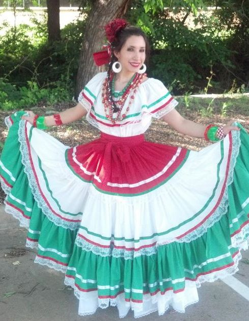 Model Mexican Little Girl Dresses Mexican Fiesta Dress