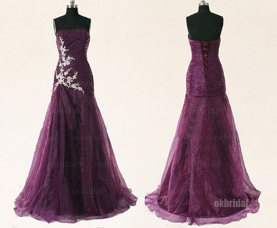 Hey, I found this really awesome Etsy listing at https://www.etsy.com/listing/168464241/long-prom-dresses-purple-prom-dresses  Gorgeous!!!! Love the lace up back and embellishments!!