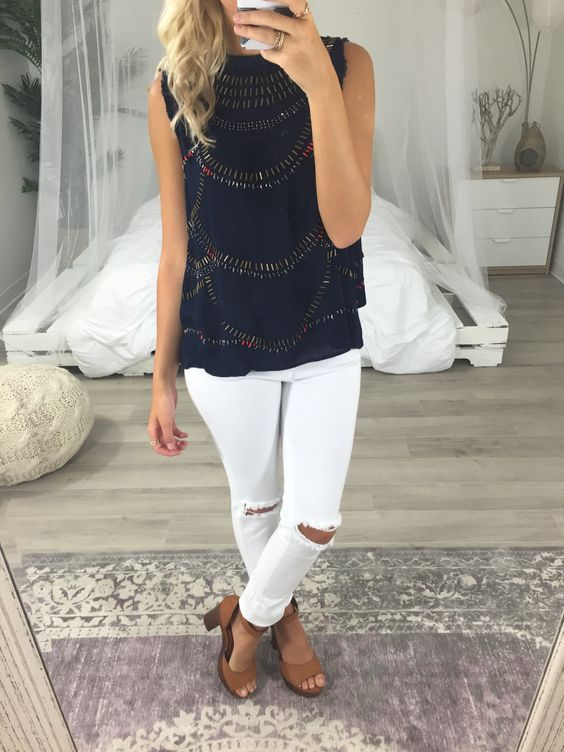 50 Trends Outfits For Summer of 2017