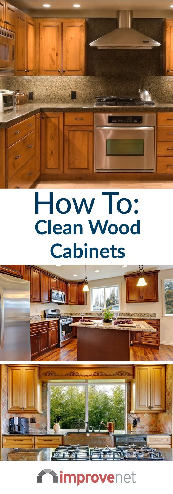 How To Clean Wood Cabinets & Make Them Shine   Cleaning ...