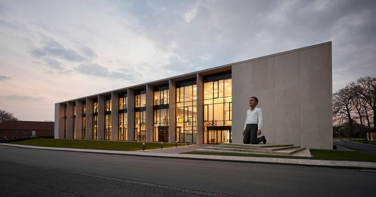 Image 1 of 23 from gallery of Hörmann Forum  / Wannenmacher + Möller GmbH. Photograph by Philipp Oesterle