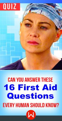 If there's an emergency, are you able to help? Do you know all these First Aid Questions every human should know? Basic survival knowledge Trivia. Do you know what to do in these medical situations? Test your medical knowledge!