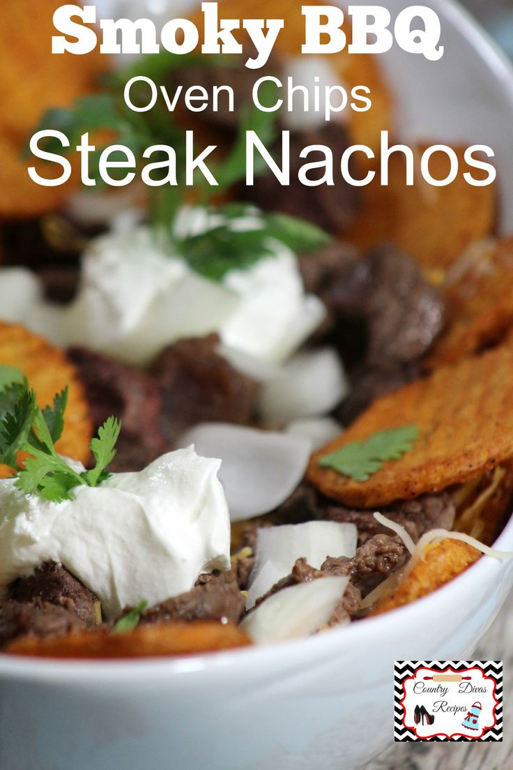 """Ore Ida """"Bold"""" & Crispy Oven Chips at The Dining Table Best Steak Nachos ever!"""