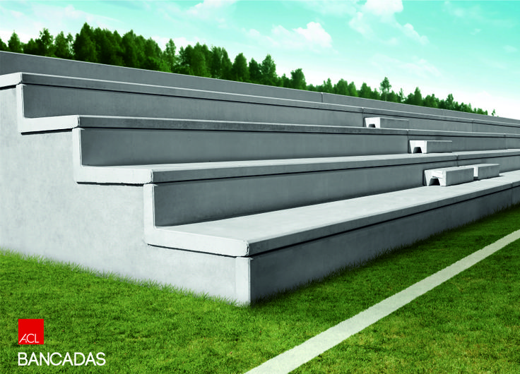 Bancadas ACL l ACL Benches  #acl #acimenteiradolouro #bancadas #betao #benches #concrete