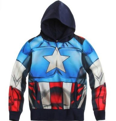 Sudadera Capitán América #culoveo http://goo.gl/krciBv